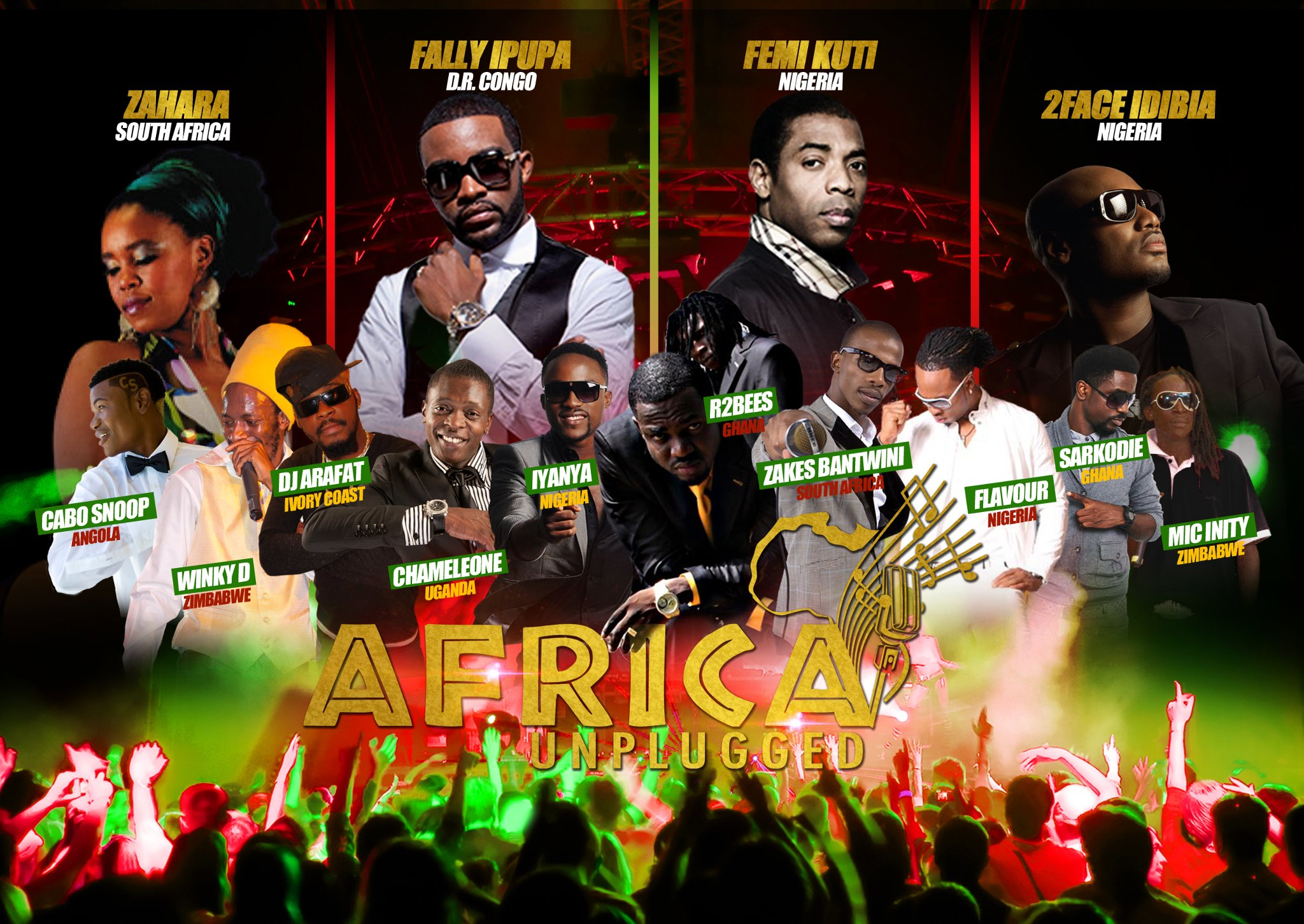 Africa Unplugged Music Festival Will Take Place On Bank Holiday Monday The 27th Of August 2012 At Wembley Arena Hosted By Eddi Kadi
